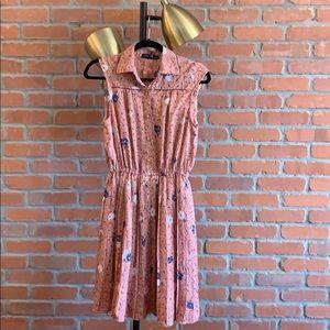 Dresses & Skirts - Ark Reworks floral fit and flare